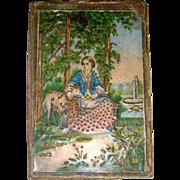 Early needle box 1880