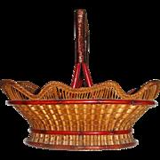 Exquisite hand made decorative basket