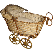 Early wire work German pram