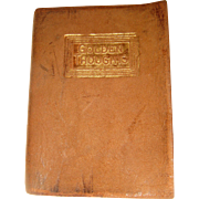 Miniature Almanac book golden thoughts 1924