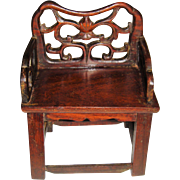 Hand made miniature chair for doll