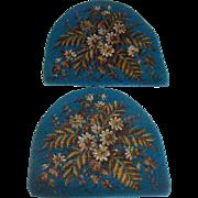 Beautiful bead work tea cosy panels