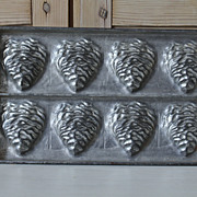 Early Letang Fils French Shell Chocolate Mold