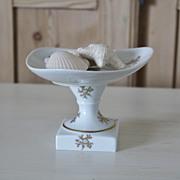 Vintage French Limoges Pedestal Compote