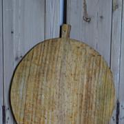 Large Vintage European Bread Cutting Board