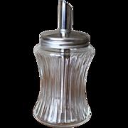 Vintage Mid-Century German Glass Sugar Shaker or Pourer