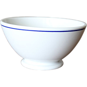 Vintage French Cafe Au Lait Bowl