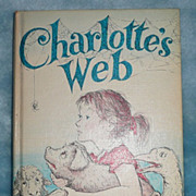 Charlotte's Web, by E.B. White - Harper, 1952 - 2nd ed.
