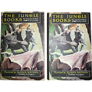 The Jungle Books, by Rudyard Kipling - Doubleday & Co., 1948, 2 Vol.