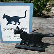 Curio Cabinet Cat - Bootscraper Style - Franklin Mint - ca. 1986-88