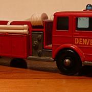 Matchbox #29c - Denver Fire Pumper Truck - ca. 1966-70