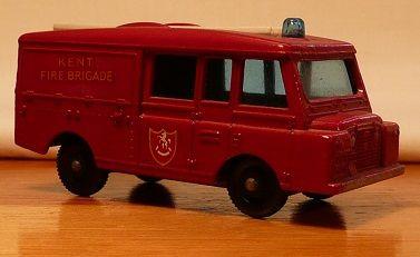 Matchbox #57c - Land Rover Fire Truck - ca. 1966-70