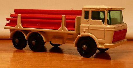Matchbox #58c - DAF Girder Truck - ca. 1967-69