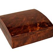 Vintage Tortoiseshell Cigarette Box.
