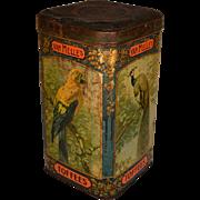 Vintage Van Melle`s Toffees Tin Can Ca. 1930