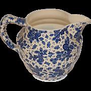 Beautiful Dutch Delfts Blue Porcelain Milk Jug Pitcher. Maestricht Beatrix Series.