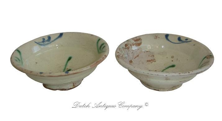 Chinese Bowl Tang Dynasty Sancai Glazed Pottery Cup