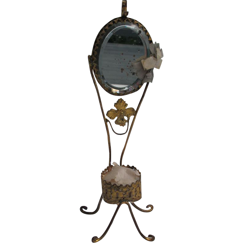 Victorian Gilt Brass Ladies Watch Holder Red Tag Sale Item Sold On Ruby Lane