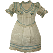 MARVELOUS Antique Factory-Original French JUMEAU Presentation Chemise circa 1880s