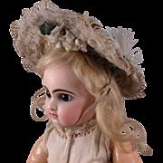 Wonderful Antique Original French Wire Frame Lace Bonnet circa 1880's