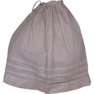 Lovely Antique Original Petticoat for French Fashion Doll circa 1880's