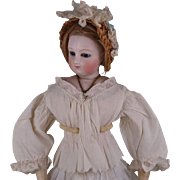 Beautiful Antique Original Cotton Blouse for French Fashion Doll circa 1860s