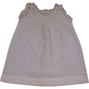 Beautiful Antique Original French Bebe Chemise circa 1880's for Jumeau, Bru, Steiner other French Bebe