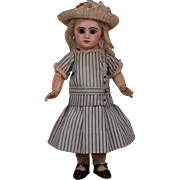 Rare Antique Original French Bebe Costume circa 1880 for Jumeau, Bru, Steiner other French Bebe circa 1880