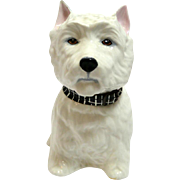 Vintage West Highland Terrier Dog Decanter England c.1970
