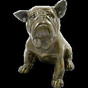 Mavchi Bronze Bulldog Signed