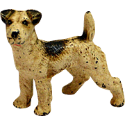 Cold Painted Bronze Jack Russell Terrier c. early 1900's