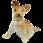 Vintage Porcelain Terrier Pup c. 1960's