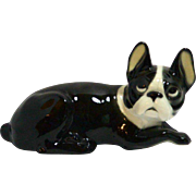 Vintage Karl Ens Porcelain Boston Terrier c. 1900-1945