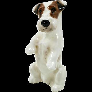 Vintage Royal Doulton Begging Sealyham Terrier Dog K3 c. 1931-1977