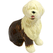 Vintage Goebel Old English Sheepdog Porcelain Figurine c. 1972-1978
