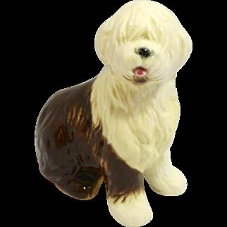 Vintage Goebel Old English Sheepdog Porcelain Figurine c. 1972-1978