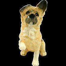 Vintage Royal Doulton Terrier Dog Paw Up