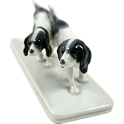 Metzler & Ortloff Pointer Dog Pair c. 1950's