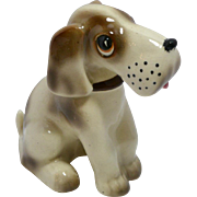 Vintage Occupied Japan Large Sitting Hound Dog c.1945-1952