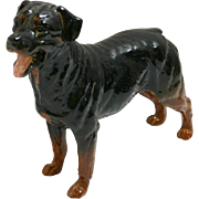 Royal Doulton Rottweiler Dog Figurine 1990 - 1997