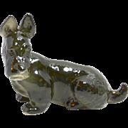 Vintage Russian Lomonosov Scottish Terrier Dog Figurine c. 1970's