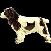 Vintage Goebel Springer Spaniel Dog Figurine 1968