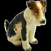 NAPCO Wire-Haired Fox Terrier Figurine c.1950-1960