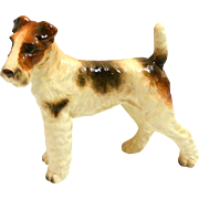 NAPCO Standing Wire-Haired Fox Terrier Figurine c.1950-1960