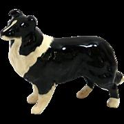 Beswick England Black & White Collie Dog A. Gredington c. 1962-2002