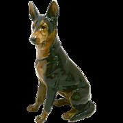 Rosenthal German Shepherd Dog F. Diller c.1927 Mint