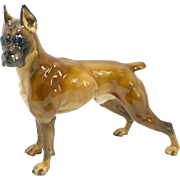 Rosenthal Boxer Dog by Prof. Theodor Karner c. mid-1950's