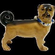 Staffordshire Pug Figurine