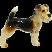 Vintage Goebel Fox Terrier figurine c. 1972 - 1979