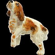 Vintage Porcelain Brittany Spaniel Figurine